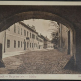 Strada Arhivelor (Armbrustergasse) - Sibiu - Hermannstadt - Nagyszeben - 1912, Circulata, Fotografie
