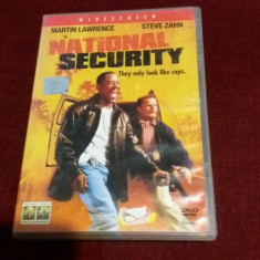 XXP FILM  NATIONAL SECURITY, DVD, Romana