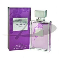 David Beckham Signature Women, 75 ml, Apă de toaletă, pentru Femei - Parfum femeie