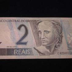 Brazilia . 2 reais . ND(2009) . UNC . necirculata - bancnota america