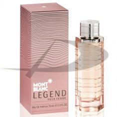 Mont Blanc Legend, 75 ml, Apă de parfum, pentru Femei - Parfum femeie