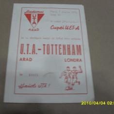 Program      UTA    -  Tottenham  Londra