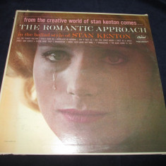 Stan Kenton - The Romantic Approach _ vinyl, LP, album, SUA, Capitol _jazz - Muzica Jazz capitol records, VINIL