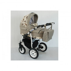 Carucior copii 3 in 1 Germany Maro color owl MyKids