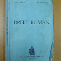 Drept roman E. Molcut D. Oancea Bucuresti 1993 - Carte Istoria dreptului