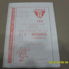 Program     UTA   -  U  Craiova