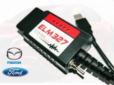 ELM327 Modificat FORScan, ELMConfig, FoCCCus. Diagnoza Avansata Ford-Mazda