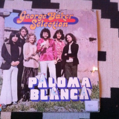 GEORGE BAKER SELECTION PALOMA BLANCA album disc vinyl muzica pop rock 1975 lp, VINIL