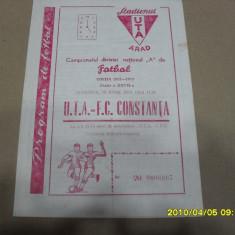 Program     UTA   -  FC  Constanta
