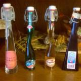 Sticlute bauturi miniatura colectie pentru decor cadou vitrina 2