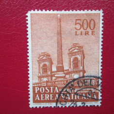 TIMBRE VATICAN STAMPILATE