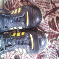 Ghete adidas rugby - Ghete fotbal Adidas, Marime: 40, Culoare: Negru
