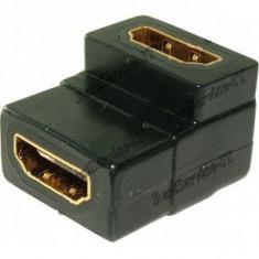 ADAPTOR HDMI HDMI MAMA - MAMA 90 grade