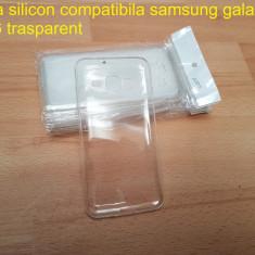 Husa silicon compatibila samsung galaxy J3 2016 trasparent - Husa Telefon Samsung, Transparent
