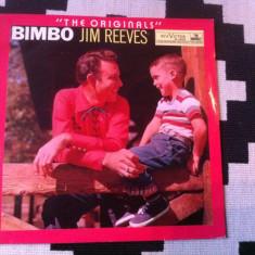 Jim Reeves Bimbo Originals disc vinyl lp muzica country editie vest RCA Victor, VINIL
