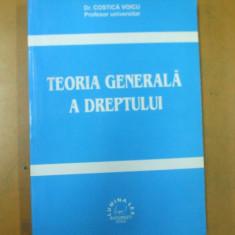 Teoria generala a dreptului C. Voicu Bucuresti 2002 - Carte Teoria dreptului