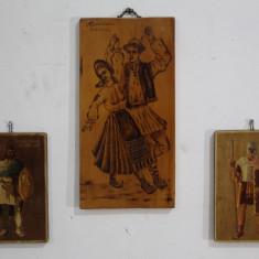 3 Buc. Pictura Decorativa Romania; Tablou
