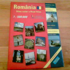 ROMANIA- ATLAS RUTIER-