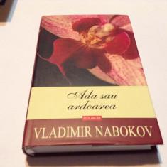 Ada sau ardoarea O cronica de familie Vladimir Nabokov,RF5/3