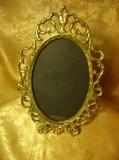 Cumpara ieftin Rama foto/oglinda, bronz dore aur 22k, Baroc Victorian, colectie/cadou