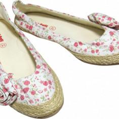 Pantofi fete, Primii Pasi, 522864 - Balerini copii, Marime: 29, 30, 31, 32, 33, 34, 35, Culoare: Multicolor, Textil