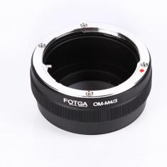 Fotga OM-M4/3 adaptor montura OM - Micro 4/3 - Inel adaptor obiectiv foto