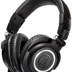 Căști Audio-Technica ATH-M50x, Casti Over Ear, Cu fir, Mufa 3, 5mm