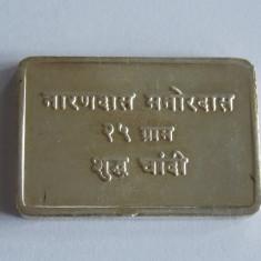 Lingou de argint-25gr-puritate 999 -1092