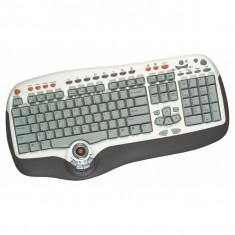 Tastatura BTC Smart Office 8190 PS2. 37 taste dedicate office si multimedia - Tastatura PC, Cu fir