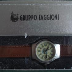 Ceas militar replica - GRUPPO FAGGIONE - WW II, Otel