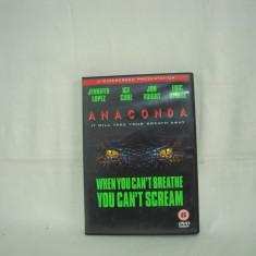 Vand dvd film Anaconda, original ! - Film thriller, Engleza