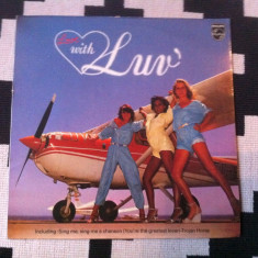 Luv With Luv album disc vinil lp muzica pop dance disco philips records 1978