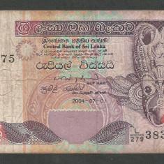 SRI LANKA 20 RUPII RUPEES 2004 [1] P-109c - bancnota asia