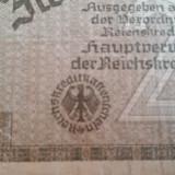 BANCNOTA GERMANIA NAZISTA - 2 MARK MARCI - SERIA Y 0323047 - HITLER, Europa