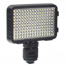 Shoot XT-160II Lampa foto-video cu 160 LEDuri si temperatura de culoare reglabila