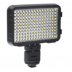 Shoot XT-160II Lampa foto-video cu 160 LEDuri si temperatura de culoare reglabila - Lampa Camera Video