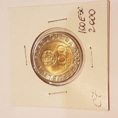C7 PORTUGALIA 100 ESCUDOS 2000 Pedro Nunes UNC, Europa