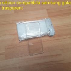 Husa Silicon  Samsung Galaxy S7 Edge Transparent