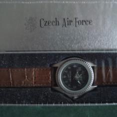 Ceas militar replica - CZECH AIR FORCE - WW II, Otel