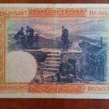 BANCNOTA SPANIA - 100 PESETAS 1925 - 1 IULIE, Europa