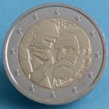 Moneda 2 euro comemorativa FRANTA 2017, AUGUSTE RODIN - UNC, Europa, Cupru-Nichel