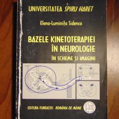 Bazele kinetoterapiei in neurologie in scheme imagini - Elena-Luminita Sidenco - Carte Recuperare medicala