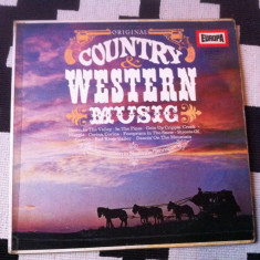Nashville Gamblers Westward Wanderers ‎Original Country Western Music disc vinyl - Muzica Country, VINIL