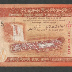 SRI LANKA 100 RUPII RUPEES 2010 [5] P-125 - bancnota asia