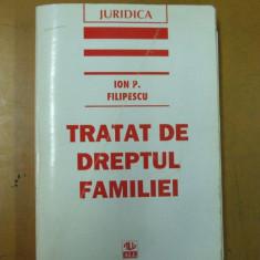 Tratat de dreptul familiei Ion Filipescu Bucuresti 1996 - Carte Dreptul familiei