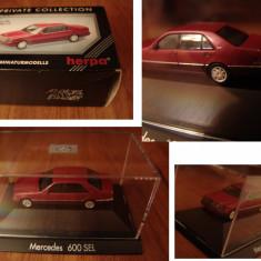 Macheta HERPA 1/87 - Mercedes 600 SEL (W140) - Macheta auto