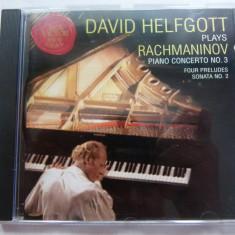 Rachmaninov - Helfgott - Muzica Clasica rca records, CD