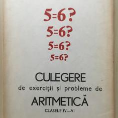CULEGERE DE PROBLEME SI EXERCITII DE ARITMETICA CLASELE IV - VI - I. Olivotto - Culegere Matematica
