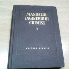 MANUALUL INGINERULUI CHIMIST-PROF. DR. ING.I. BLUM SI ALTII