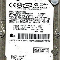 Hdd Laptop 2.5 inch SATA 250GB 5400rpm 8Mb cache Hitachi 0A54906